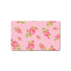 Rose Pink Magnet (name Card) by Jojostore