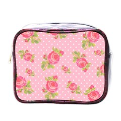 Rose Pink Mini Toiletries Bags