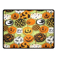 Print Halloween Fleece Blanket (small)