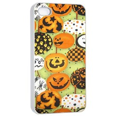 Print Halloween Apple Iphone 4/4s Seamless Case (white) by Jojostore