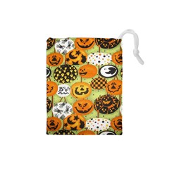 Print Halloween Drawstring Pouches (small)