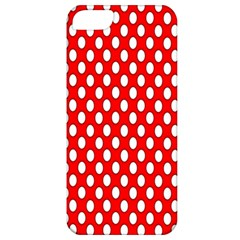 Red Circular Pattern Apple Iphone 5 Classic Hardshell Case by Jojostore