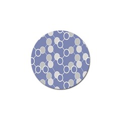 Round Blue Golf Ball Marker (10 Pack) by Jojostore