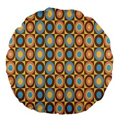 Round Color Large 18  Premium Flano Round Cushions