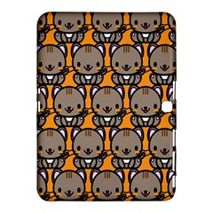 Sitcat Orange Brown Samsung Galaxy Tab 4 (10 1 ) Hardshell Case  by Jojostore