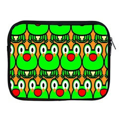 Sitfrog Orange Face Green Frog Copy Apple Ipad 2/3/4 Zipper Cases