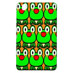 Sitfrog Orange Face Green Frog Copy Samsung Galaxy Tab Pro 8 4 Hardshell Case by Jojostore