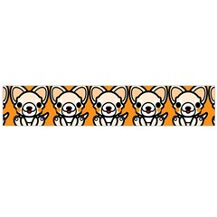 Sitchihuahua Cute Face Dog Chihuahua Flano Scarf (large) by Jojostore