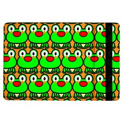 Sitfrog Orange Green Frog Ipad Air Flip