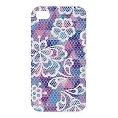 Cute  Colorful Nenuphar Phone Case Apple Iphone 4/4s Hardshell Case by Brittlevirginclothing
