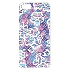 Cute  Colorful Nenuphar Phone Case Apple Iphone 5 Seamless Case (white) by Brittlevirginclothing