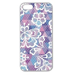 Cute  Colorful Nenuphar Phone Case Apple Seamless Iphone 5 Case (clear) by Brittlevirginclothing