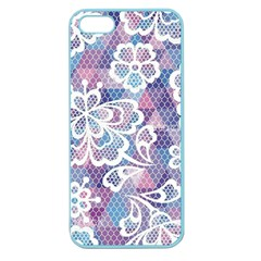 Cute  Colorful Nenuphar Phone Case Apple Seamless Iphone 5 Case (color) by Brittlevirginclothing