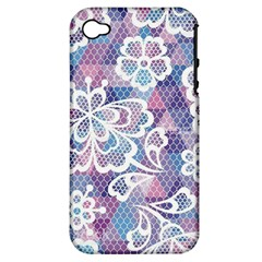 Cute  Colorful Nenuphar Phone Case Apple Iphone 4/4s Hardshell Case (pc+silicone) by Brittlevirginclothing