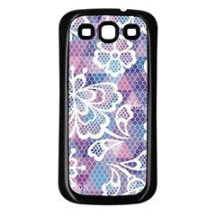 Cute  Colorful Nenuphar Phone Case Samsung Galaxy S3 Back Case (black) by Brittlevirginclothing