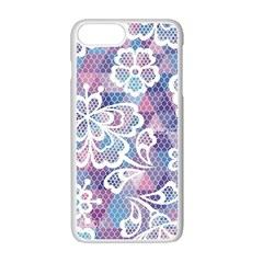 Cute  Colorful Nenuphar Phone Case Apple Iphone 7 Plus White Seamless Case by Brittlevirginclothing