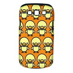 Small Duck Yellow Samsung Galaxy S Iii Classic Hardshell Case (pc+silicone) by Jojostore