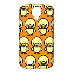 Small Duck Yellow Samsung Galaxy S4 Classic Hardshell Case (pc+silicone)