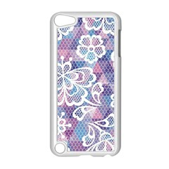 Cute  Colorful Nenuphar  Apple Ipod Touch 5 Case (white) by Brittlevirginclothing