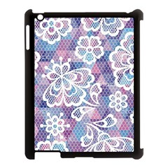 Cute  Colorful Nenuphar  Apple Ipad 3/4 Case (black) by Brittlevirginclothing