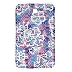 Cute  Colorful Nenuphar  Samsung Galaxy Tab 3 (7 ) P3200 Hardshell Case  by Brittlevirginclothing