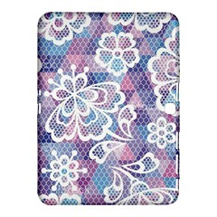 Cute  Colorful Nenuphar  Samsung Galaxy Tab 4 (10 1 ) Hardshell Case  by Brittlevirginclothing