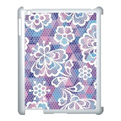 Cute  Colorful Nenuphar  Apple Ipad 3/4 Case (white) by Brittlevirginclothing