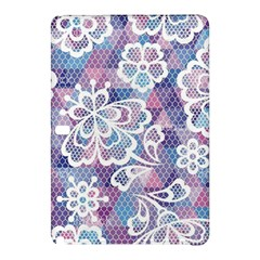Cute  Colorful Nenuphar  Samsung Galaxy Tab Pro 10 1 Hardshell Case by Brittlevirginclothing