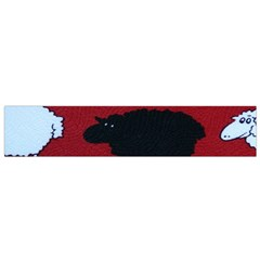 Sheep Pattern Flano Scarf (small) by Jojostore