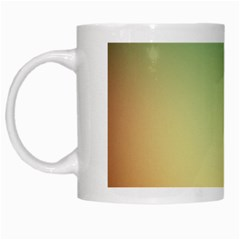 Smooth Gaussian White Mugs