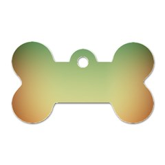 Smooth Gaussian Dog Tag Bone (two Sides)