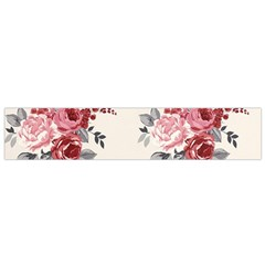 Rose Beauty Flora Flano Scarf (small) by Jojostore