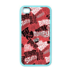 Tals Stupid Apple Iphone 4 Case (color)