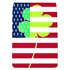 Usa Ireland American Flag Shamrock Irish Funny St Patrick Country Flag  Flap Covers (l)  by yoursparklingshop