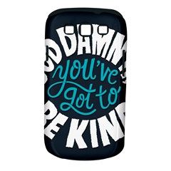 Be Kind Samsung Galaxy S Iii Classic Hardshell Case (pc+silicone)