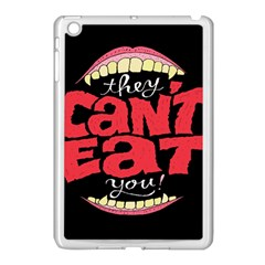 Cant Eat Apple Ipad Mini Case (white) by Jojostore