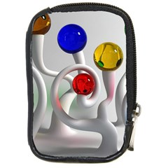 Colorful Glass Balls Compact Camera Cases by Jojostore