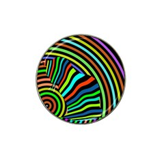 Colorful Cat Hat Clip Ball Marker (4 Pack)