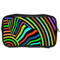 Colorful Cat Toiletries Bags 2 Side by Jojostore