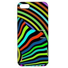 Colorful Cat Apple Iphone 5 Hardshell Case With Stand
