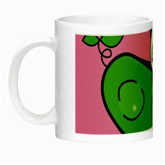 Edamame Panda Pink Cute Animals Night Luminous Mugs by Jojostore