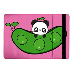 Edamame Panda Pink Cute Animals Samsung Galaxy Tab Pro 10 1  Flip Case by Jojostore