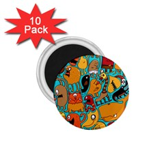 Creature Cluster 1 75  Magnets (10 Pack)  by Jojostore
