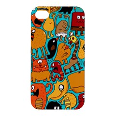 Creature Cluster Apple Iphone 4/4s Hardshell Case