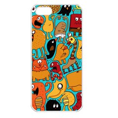 Creature Cluster Apple Iphone 5 Seamless Case (white)