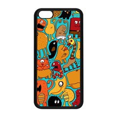 Creature Cluster Apple Iphone 5c Seamless Case (black) by Jojostore