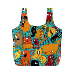 Creature Cluster Full Print Recycle Bags (m)  by Jojostore