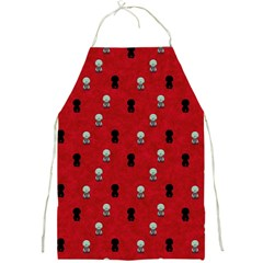 Cute Zombie Pattern Full Print Aprons