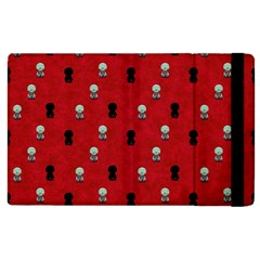 Cute Zombie Pattern Apple Ipad 2 Flip Case by Jojostore
