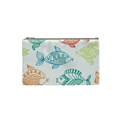 Fish Cosmetic Bag (small)  by Jojostore